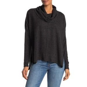 Status by Chenault Women's Cowl Neck Long Sleeve Sweater size Medium